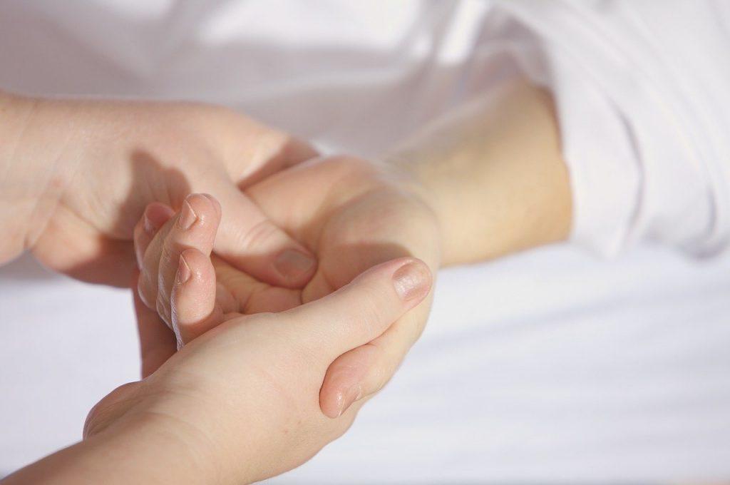 hands, massage, treatment
